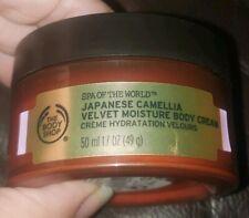 The Body Shop Spa of The World Japanese Camellia Velvet Moisture Body Crm 1.7 oz