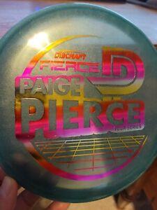 Discraft – Paige Pierce 2021 Tour Series Fierce – Blue w/ Sunset Stamp – 173-174