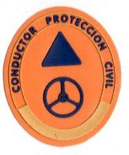 ecusson ESPAGNE conducteur  protection civile patch