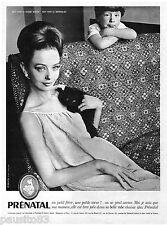 PUBLICITE ADVERTISING 105  1963   PRENATAL   robe de grossesse