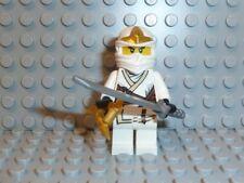 LEGO ® Ninjago 1x personaggio Zane ZX con armi njo031 9445 9449 9440 9554 NUOVO f636