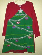 Cotton Kids Christmas Dress Girls Size 7