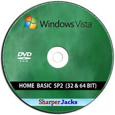 Windows Vista Heim Basic Installieren/ Reinstall/Pflege/Erholung/Reparatur CD