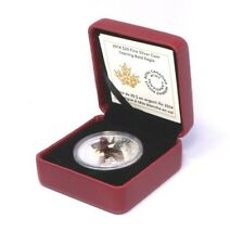 Canada 20 Dollars, 2014 Soaring Bald Eagle Silver Coin with Certificate & Box