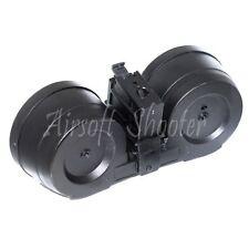 Airsoft Gear BATTLEAXE 2500rd Mag Drum Magazine Electric C-Mag For G36 AEG