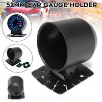 """52mm 2"""" Car Truck Gauge Cup Holder Pod Universal Car Instrument Dash Mount Black"""