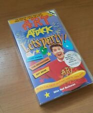 Art Attack Let's Party - VHS - PAL - Neil Buchanan