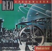 REO Speedwagon - Wheels Are Turnin'(Vinyl, Epic) / Japanese Edition EX/EX