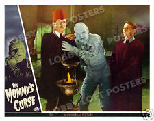 THE MUMMY'S CURSE  LOBBY SCENE CARD # 8 POSTER 1944 LON CHANEY JR.  PETER COE