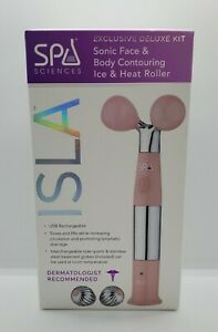Spa Sciences ISLA Sonic Facial & Body Contouring Ice/Heate Roller Sealed Pink