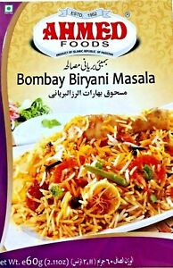 Ahmed Foods Recipe Spices Seasoning Masala Indian  Bombay Biryani BBQ