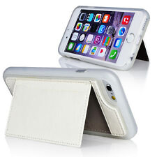 For Apple iPhone 6 4.7 Wallet Card Holder Stand TPU Pu Leather Fitted Case Skin