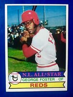 1979 Topps NL All Star George Foster #600 Reds