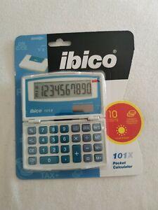 IBICO Calculatrice de poche format étuit 101X