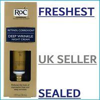 FRESHEST RoC Retinol Correxion Deep Wrinkle Night Cream Anti-Wrinkle Serum 30ml