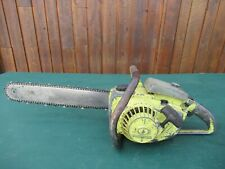 "Vintage PIONEER 1200  Chainsaw Chain Saw with 16"" Bar"
