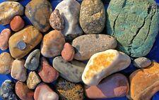 30 lbs L 00002Aa9 ot #2 Mixed Size Colorful River Rock Water Feature Aquarium Landscape