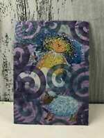 "Hand Made ""Mama Sheepherder"" ACEO Trading Cards Original Art Scrapbook"