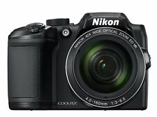 NEW Nikon Coolpix B500 16MP Digital Camera 40x Optical Zoom Black HD