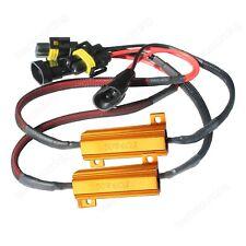 2x H8 H9 H11 DRL Phare LED Anti Brouillard Résistance Canbus Décoder 50W 6 Ohm