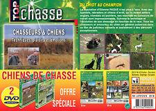 Lot 2 DVD Chiens de chasse