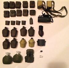21st Century Soldier/GI Joe-1/6 Scale Accessory-WW2-Gear/Bags/Backpacks/Canteens