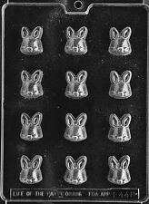 SMALL BS BUNNY BON BON mold Chocolate Candy bunnies rabbit cake toppers E448