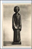 Postkarte mit Skulptur AK Künstler E. Barlach Der Sänger anno 1932