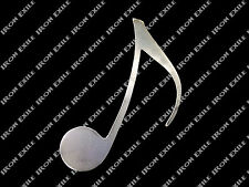 Eight Note Quaver Metal Music Wall Art Home Decor Musical Rock Classical Jazz