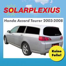 Autosonnenschutz Tönung fertige Vorsatzscheiben Honda Accord Tourer Bj.03-08