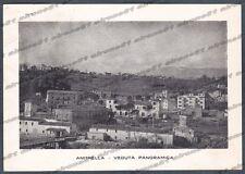 FROSINONE MONTE SAN GIOVANNI CAMPANO 01 ANITRELLA Cartolina viagg 1953 SCIUPATA
