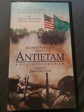 Antietam A Documentary Film VHS 2000 Civil War Doc Narrated By James Earl Jones