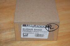 old dealer box luhr jensen sugar shad 12 total lures 1/4oz chartreuse black