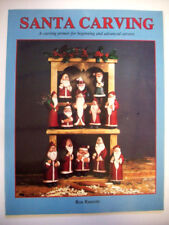 Christmas Santa wood carving how to instructions diagrams basic to advanced