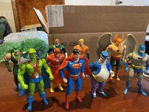 1984 DC Super Powers Kenner Lot Superman, Batman & More!