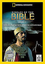 National Geographic - Riddles Of The Bible - Series 2 - Complete (DVD, 2010, 2-D