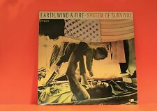 """EARTH WIND & FIRE - SYSTEM OF SURVIVAL - PROMO 4 TRACK 12"""" VINYL RECORD (X)"""