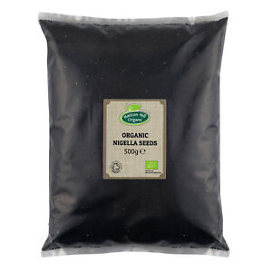 Organic Nigella Seeds 500g (Certified Organic)