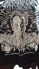 Atomck t shirt ladies size large grindcore nasum napalm death discordance axis