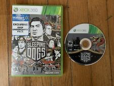 Sleeping Dogs (Xbox 360) Tested And Working, Original