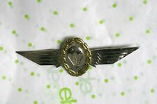 Wings Pin Germany Gold Wreath Vintage Military Airborne Paratrooper Jump