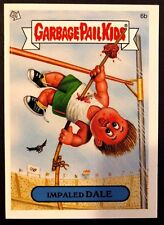 Topps Garbage Pail Kids 2005 GPK ANS 4 #6b Impaled DALE NrMint-Mint