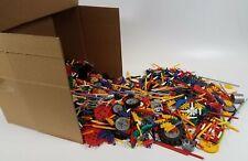 10+ Lb Bulk Lot of K'nex Building Pieces, Toys, and Accessories - Lot