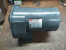 Dayton 1/4HP Gearmotor 5K934B 12RPM 115VAC 144:1 Reversible Foot Mount