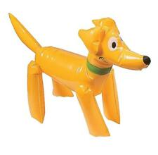 INFLATABLE GOLDEN LABRADOR PUPPY DOG PARTY TOY - BLOW UP KIDS DOG LOVER GIFT