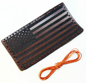 USA Flag leather patch,United States leather patch.