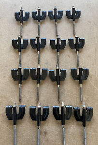 16X Black Drum Claws And Bolts For Bass Drum Set #570