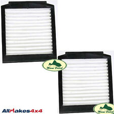 LAND ROVER AC A/C AIR CONDITIONED POLLEN FILTER SET x2 RANGE P38 LR030219 ALLM
