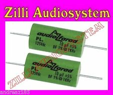 AZ AUDIOCOMP coppia condensatori serie BEST PL 3G3  POLIESTERE da 3,3 uF NEW