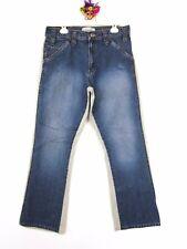CLOCK HOUSE by C&A Men's Vtg Retro Double Colour Old fashion Jeans sz 32x32 AY74